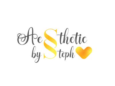 Aesthetics by Steph Logo graphic design vector icon logo logo design