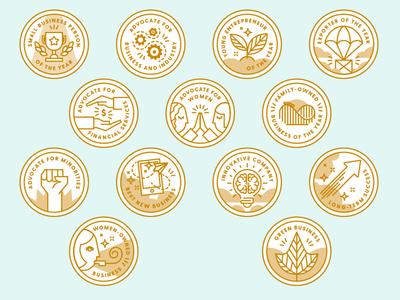Small Business Award Badges