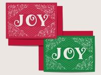 JOY / 2019 Seasonal Card Design