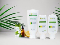 Poster for all natural organic cosmetic products