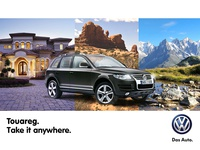 Billboard Campaign for Volkswagen Romania