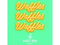 WafflesWafflesWaffles Sticker