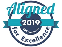 Aligned for Excellence Badge