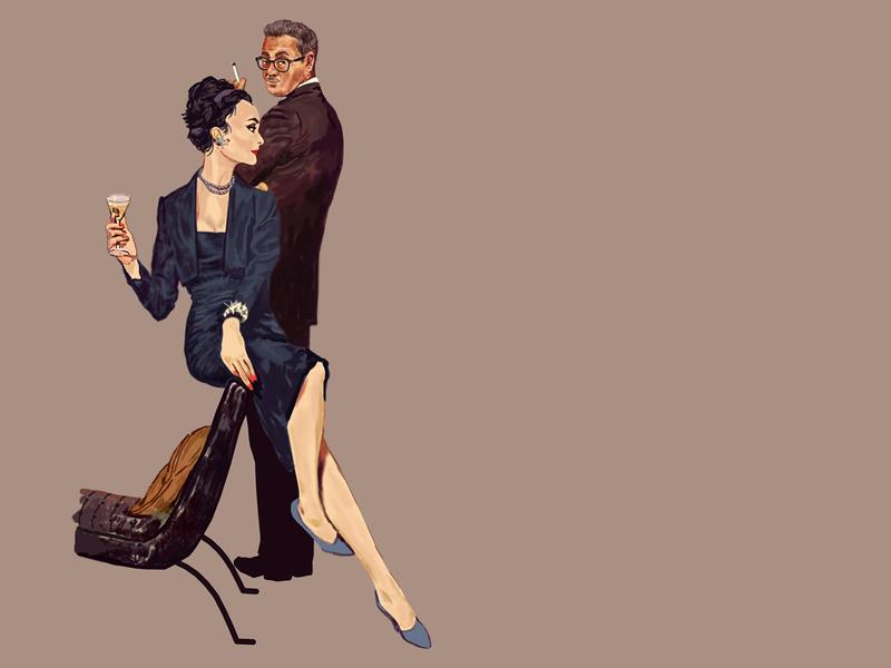 Madmen illustration