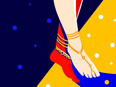 Stepping into another world anklets legs sexy legs girl illustration vector patterns vector painting illustration art bold adventures vectorart illustrator vector art minimal graphic design design illustration
