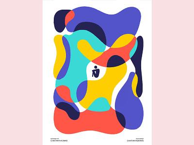 The one without virus minimal poster minimalart graphicdesign designer poster design posterart poster graphics designer graphics design branding bold vectorart minimal illustrator vector art graphic design design illustration