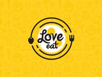 Love-eat try illustration