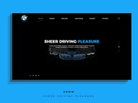BMW Home page design