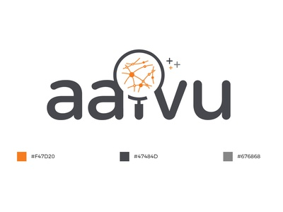 Ai research logo - Meaning Logo ( aaivu ) ai lettering brand agency logobranding type animation dark art art knowledge flat typography love icon logo branding vector illustration brand design color