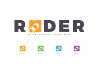 Rider mobile app logo and icons
