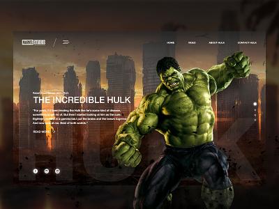 Hulk Shot Dribbble poster typography website icon minimal logo app apps application illustration branding landing page ux social web ui vector flat site design color 2019 design
