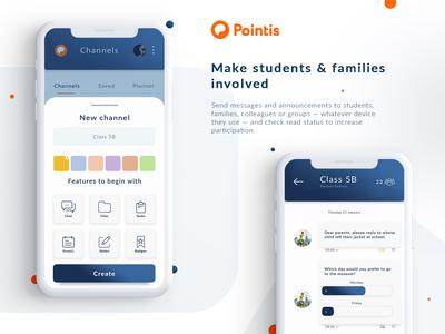 Presentation App Pointis co.
