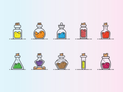 Potion Icon Set