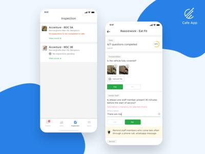 Cafe Manager App