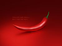 Red Chilli Rendering - Blender