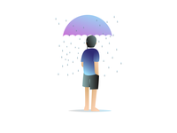 Rain in childhood I