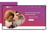 Blog site homepage