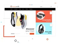 shopping site home page
