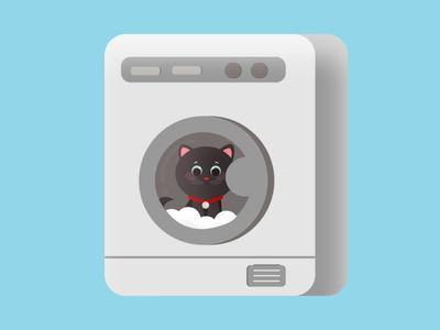 Cats Washing