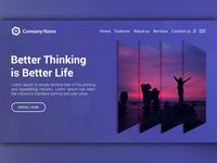 Web UI Landing Page Website Design Template