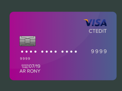 VISA Card-Adobe XD