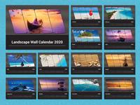 Landscape Wall Calendar 2020