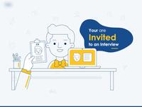 Concept - Interview Invitation