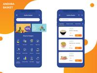 Andhra Basket Grocery App
