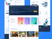 Travel Booking Landing Page