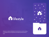 Lifestyle Home services Logo