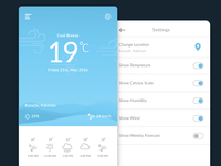 Cool Weather UI Concept