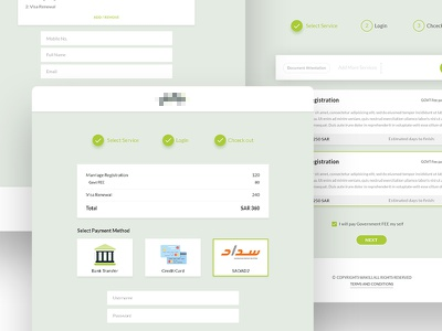 Signup Process website app web ux ui theme layout lawyer law signup process interaction askdziner