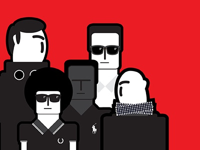 Red Crew cp company ralph lauren fred perry illustration