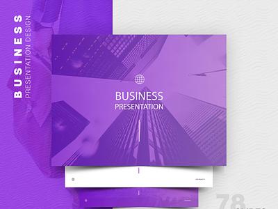 Presentation Design modern design design 2020 trend trand branding illustration ui presentation design
