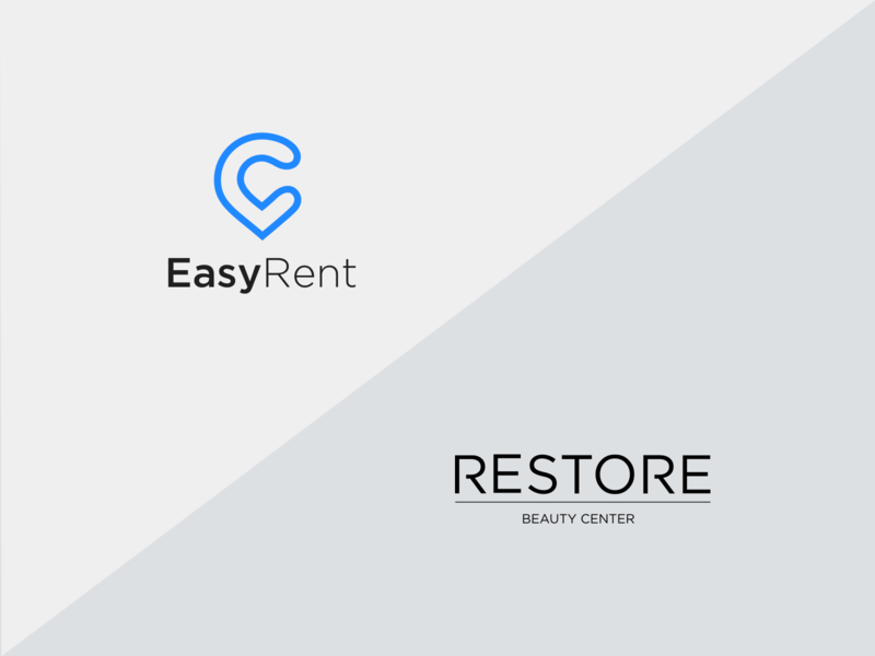 Restore and EasyRent logos