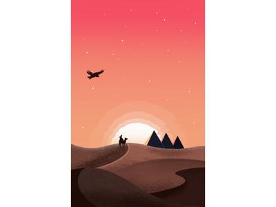 Desert roaming