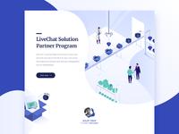 Solution Partner Program landing page – design proposal