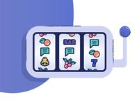 Games and Gambling illustration