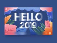 Hello 2019, keep fighting!!