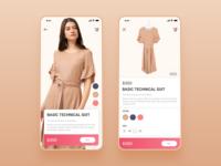 E Commerce app UI