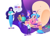 Orcheshub Illustrations 1