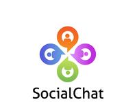 SocialChat Logo