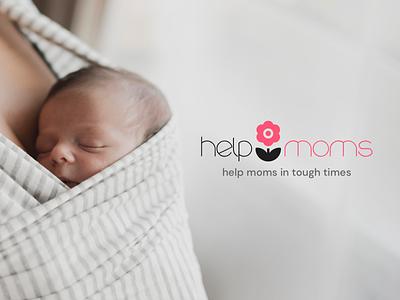 Help moms wip design simple birth baby new mom moms helpmoms webdesign ux ui