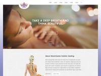 Spa and holistic center website