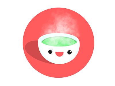 happy Matcha tea matcha illustration
