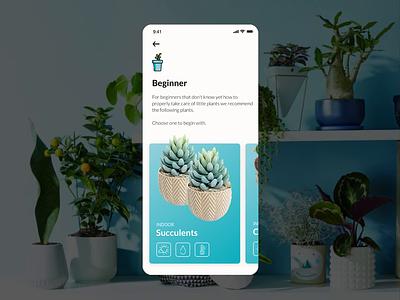 Perfect Plant App UI Animation app design design plants application ui ux mobile ui ui design uidesign uiux ui mobile app mobile application app
