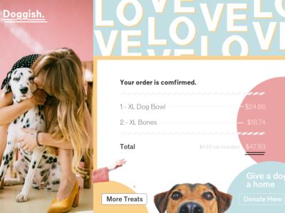 Doggish Order Confirm
