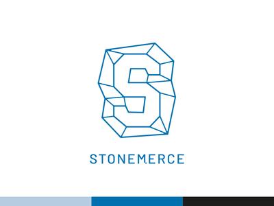 Stonemerce logos logo design logodesign logotype minimal monogram lettering typography modern logo logomark branding line art logo