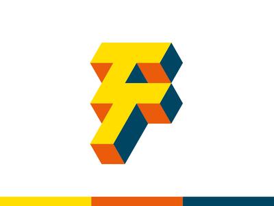Thunder Tech logos logo design logodesign logotype isometric bold monogram lettering typography logomark modern logo minimal branding logo