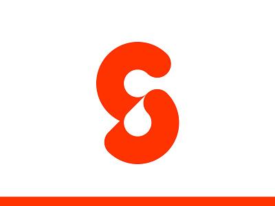 Sticker bold icon logo design lettering typography monogram minimal modern logo logomark branding